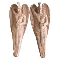 CUSTOMIZED FIBERGLASS WINGED ANGEL STATUE- Quatavi.com