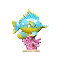 FISH MODEL MADE FROM FIBERGLASS