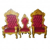 NEW DESIGN KING THRONE CHAIR BY FIBERGLASS
