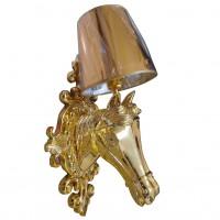 NIGHT-LAMP HORSE BY FIBERGLASS