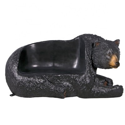 Modern Fashion art Design Fiberglass Bear Bench