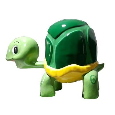 FIBERGLASS GREEN TURTLE MODEL