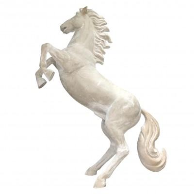 HORSE STATUE BY FIBERGLASS MATERIAL