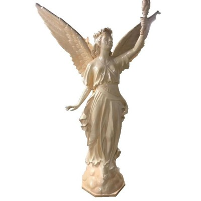 FIBERGLASS GODDESS/ ANGEL STATUE LAMP