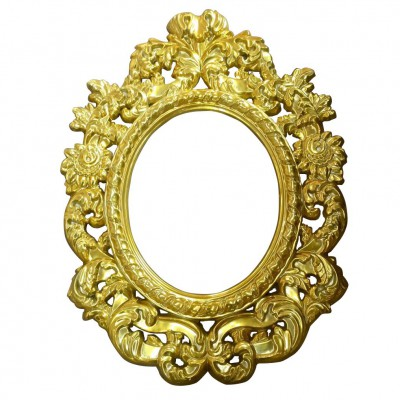 FIBERGLASS UNIQUE BAROQUE PERIOD MIRROR