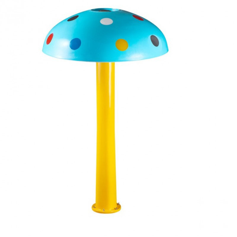 FIBERGLASS MUSHROOM- SHAPED FOUNTAINS