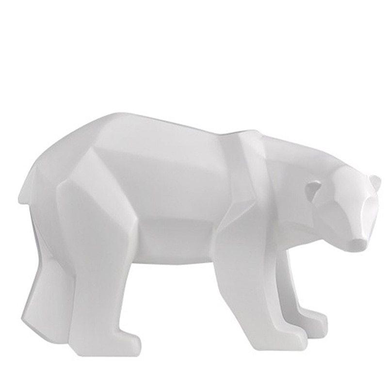 FiBERGLASS BEAR ANIMAL MODEL
